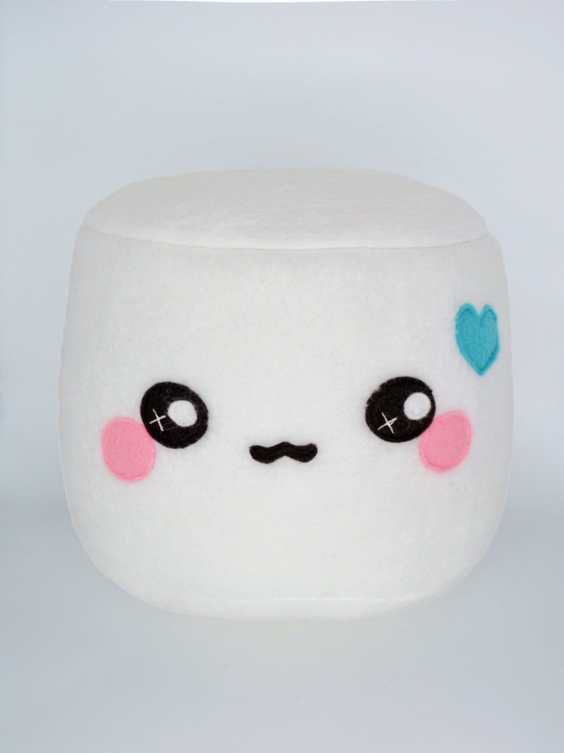 Marshmallow Plushie Pillows Cushions Chocolate Dipped