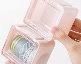 Plastic Tape Box - 3 colors - 1 Pcs
