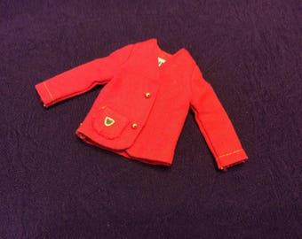 Red Skipper School Girl Jacket 1965-66 #1921