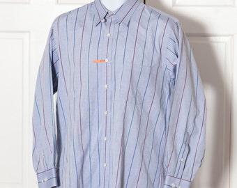 Men's 90 Button Down Shirt - Court House Square - 16 32-33
