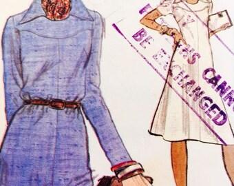 Vogue 9059 Vintage 70's A-Line dress