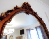 Large Mirror Large Ornate Victorian Mirror Shabby French Country Use coupon for 50% off