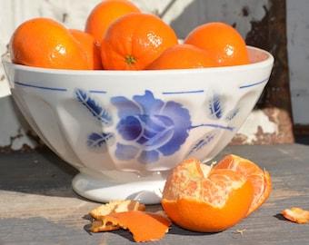 French Antique Bowls, Large Cafe Au Lait Bowl, Vintage French Kitchen Decor, French Cafe Bowl, Vintage Soup Bowl