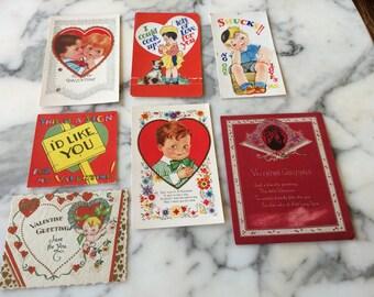 Vintage Valentine's Cards
