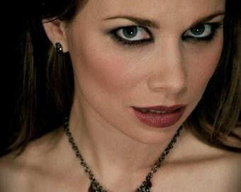 Gothic, Vampire, Gothic Necklace, Vampire Necklace, Fang Necklace, Gothic Jewelry, Twilight Jewelry, Vampire Diaries, Goth