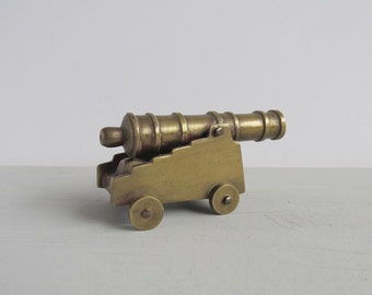 Vintage Brass Cannon - Ships Cannon - Fort Cannon