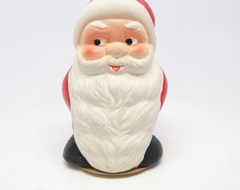 Vintage Germany Santa Candy Container for Christmas