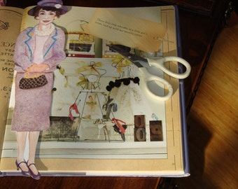 Coco Chanel bookmark