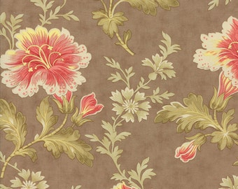 Autumn Lily in Wooden Trellis by Blackbird Designs for Moda - One Yard - 2740 17