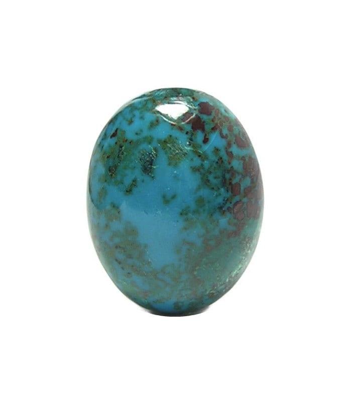 Red Malachite Stone : Chrysocolla blue with green malachite red cuprite semi