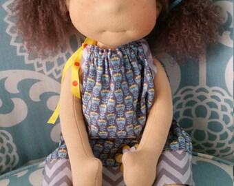 """Waldorf doll 18"""" tall"""