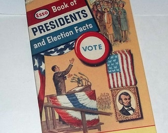 ESSO Advertising, Book of Presidents, ca1960