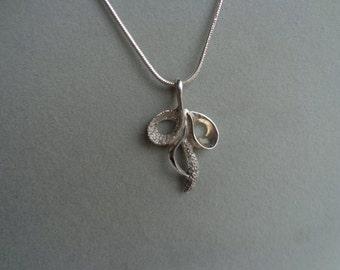 Sterling silver pendant  ( .925 )