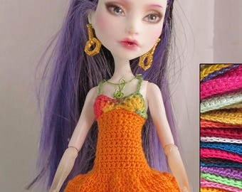MH doll ~Custom- Dress and shawl (style 2)