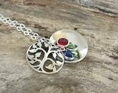 Hand Stamped Grandmothers Necklace /Grandmas necklace /Personalized grandma gift / Grandma Necklace / Gift for Grandma / Mothers Necklace
