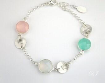 Personalized birthstone bracelet for mom gift mom bracelet sister custom family bracelet Grandma jewelry custom mother's bracelet birthstone
