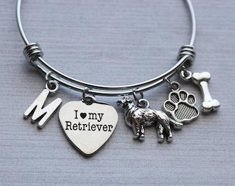 I love My Retriever Bracelet, Retriever Gifts, Retriever Gifts Ideas, Retriever Lovers Gifts, Retriever Jewelry, Retriever Bracelet, Dogs