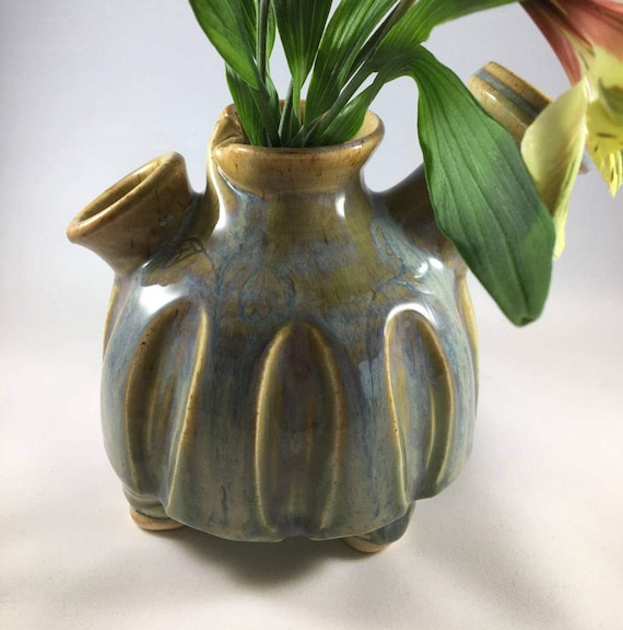 Pottery Vase Flower Vase Ceramic Vase Funky Vase Handmade