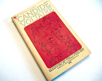 Candide by Voltaire, Paperback 1963