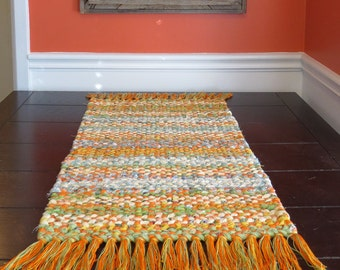 Twined Rag Rugs Etsy