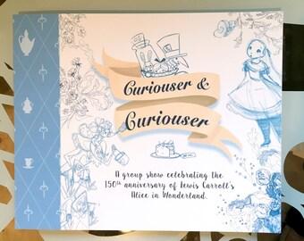 Curiouser and Curiouser art book