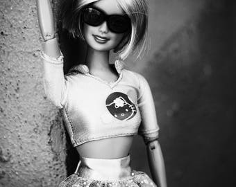 BONJOUR KITTY- Barbie and Friends Fine Art Photography