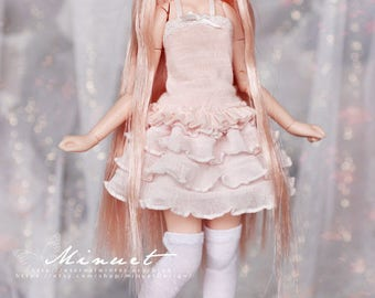 Milky Pink Puff skirt for Azone Pureneemo