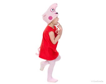Peppa Pig costume for Kids Peppa Pig Children Costume
