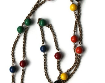 Multicolored Vintage Necklace