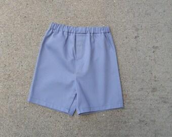 Boys Organic Twill Shorts - Sizes 6 Months - 4T