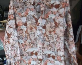 Vintage 1970's Vargas Pin-Up Girl Disco Shirt - pin up girl -naughty Quotes Disco Shirt - Retro Men's/women's Disco Shirt -Playboy Shirt