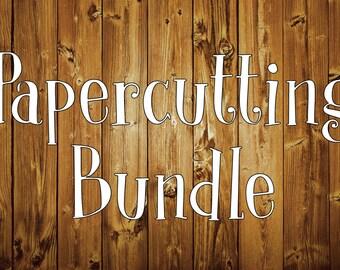Papercutting Template Bundle x 20 - Personal Use