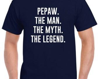 Pepaw Christmas Gift-Funny Pepaw Shirt Tshirt
