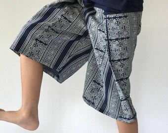 KD0002 kid fisherman pant thai yoga pants pants, fit for all kid
