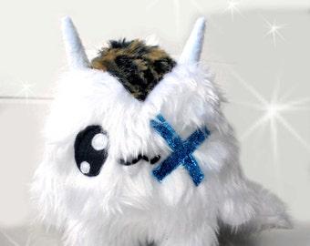 Fluse one eyed Kawaii Plush cute Monster Devil stuffed animal