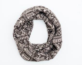 Snood - Sampler Collection - Lambswool Merino - Brown Yak Yarn