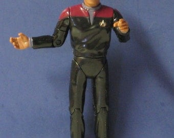 "Star Trek Deep Space 9 Benjamin Sisko Action Figure 5"" Playmates 1994"