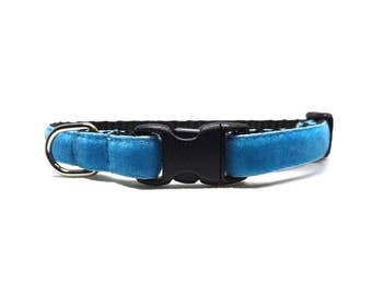 The Softy - Light Blue | Cat Collar with Bell
