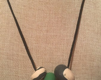 The Kelly clay bead Necklace