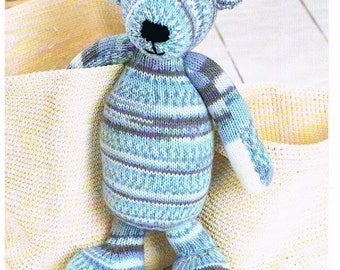 TEDDY BEAR KNITTING Pattern.