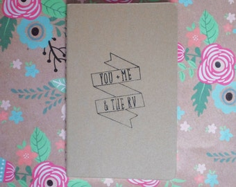 You, Me and the RV- Moleskin Travel Journal