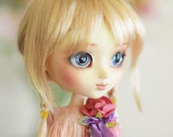 "Tess Blond Doll WIG 8-9"" for dolls : Pullip, Wichtel, Msd, Kaye Wiggs, Dollmore, Sd, Dal, 1/3 BJD..."