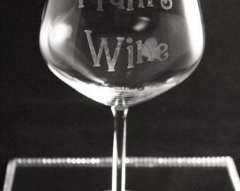 750ml extra large wine glass, large wine glass, big wine glass, wine bottle glass, wine glass gift, name wine glass