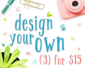 Photography Studio Marketing Templates & Forms Custom Discount Bundle - INF3_CUSTOM