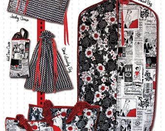 Get Away Travel Set by Wing and a Prayer - WP 146 Pattern ONLY - DIY Project