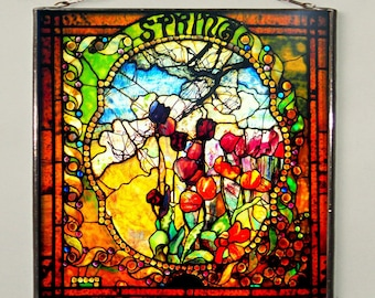 Louis Comfort Tiffany - Spring, Stained glass