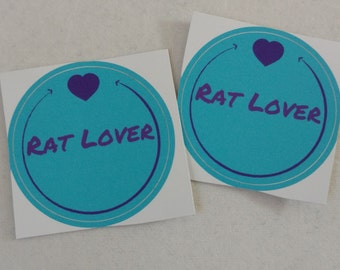 Rat Lover Sticker
