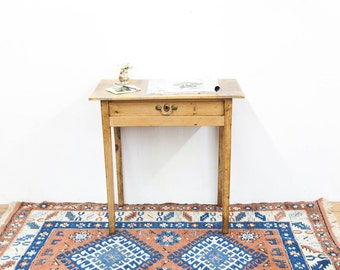Pine One Drawer Side Table