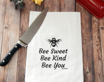 Bee Sweet Flour Sack Tea Towels