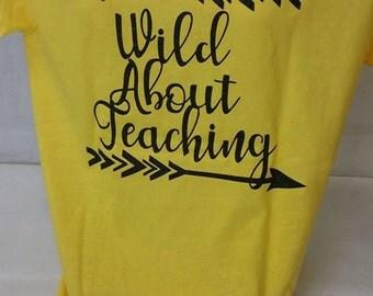 Wild About Teaching T-Shirt